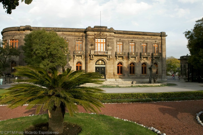 Chapultepec Castle Mexico City Mex Tourism