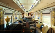 Piano bar,  Belmond Andean Explorer